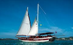Морской национальный парк Ангтонг на парусной яхте